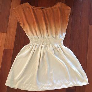 Club Monaco Gradient Dress in silk